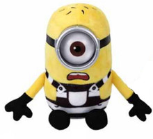 """Despicable Me 3 Carl TY Beanie Baby 8"""" Inch Plush"""