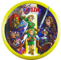 Legend of Zelda Large 9 Inch Lunch Dinner Round Plates