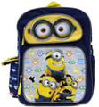 Despicable Me Small Cloth Toddler Backpack - Eyes