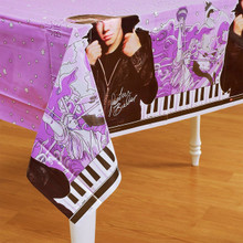 Justin Bieber Plastic Tablecover Table Cover