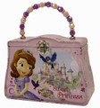 Princess Sofia the First Tin Beaded Purse- Sweet as a Princess