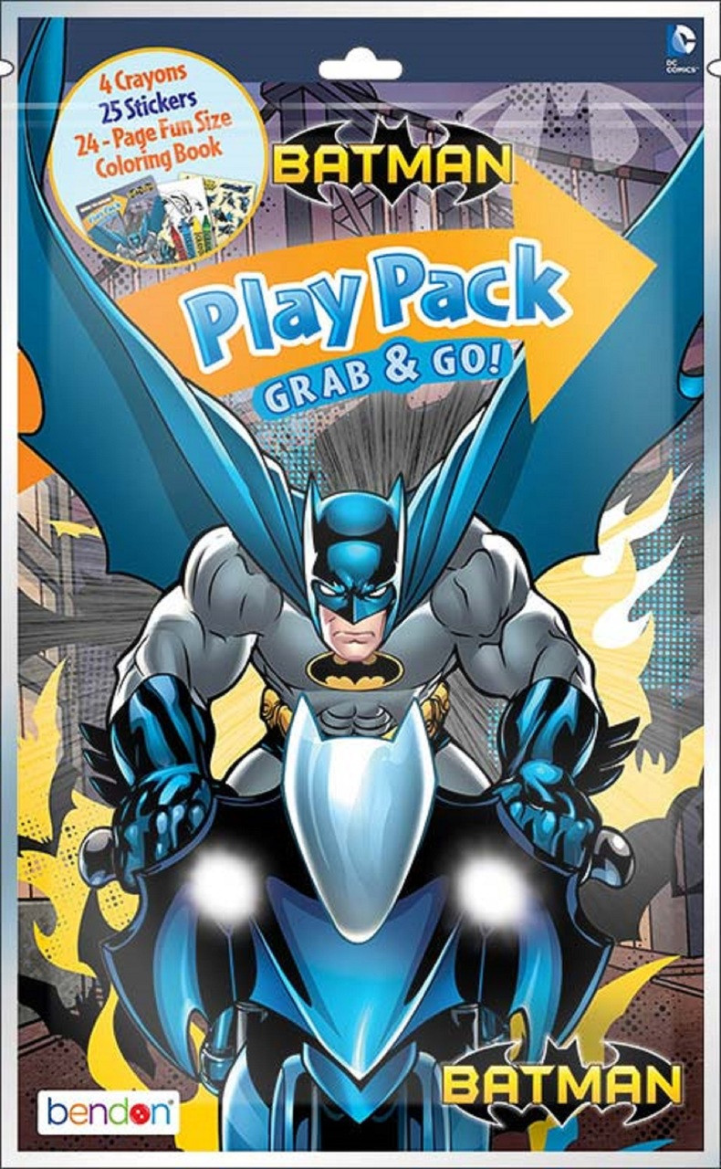 Batman Grab and Go Play Pack Party Favors - Gotham Guardian