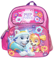 Paw Patrol Pup Power Toddler 12 Inch Backpack Small 3D Backpack - Pink