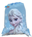 Drawstring Bag - Frozen Princess Elsa Cloth String Bag Sack Pack - Light Blue