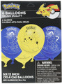 Pokemon Pack of 6 Latex Helium  Balloons