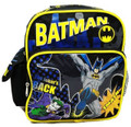 "Batman Small Toddler 10"" Cloth Backpack Book Bag Pack"