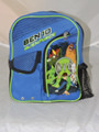 "Ben 10 Small Toddler 10"" Cloth Backpack Book Bag Pack - Blue"