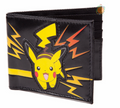 Pokemon Bi-Fold Synthetic Wallet - Pikachu