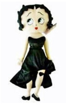 Betty Boop 15 inch Black Dress Collectible Plush Doll