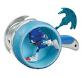 Sonic Boom 3 Inch Figure - Sonic With Ripcord Wheel Launcher