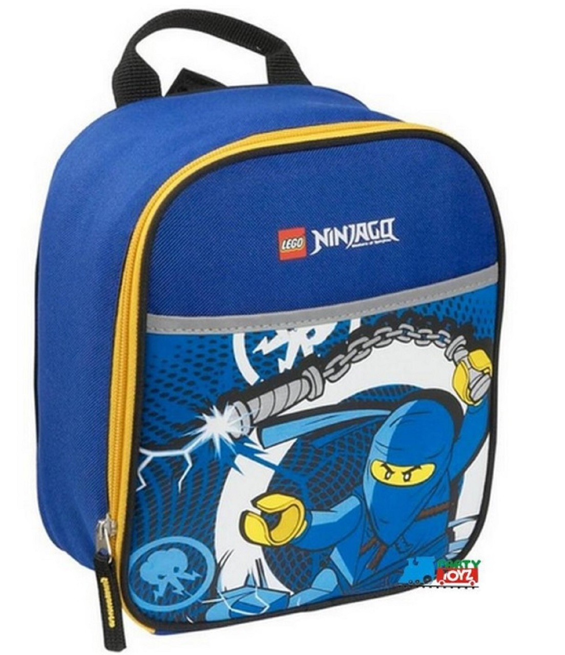 LEGO Ninjago Vertical Cloth Lunch Box - Jay/Blue Ninja