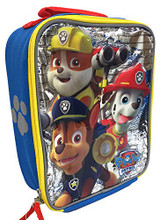 Paw Patrol Vertical Lunch Kit - Marshall, Chase, Rubble
