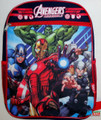 Avengers Assemble Large 16 Cloth Book Bag Pack - Blue/Red