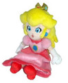 "Mario Brothers 8"" Princess Peach Plush Toy Stuffed Animal"
