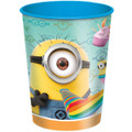 Despicable Me Plastic 16 Ounce Reusable Keepsake Favor Cup ( 1 Cup )