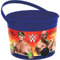 WWE Wrestling Plastic Favor Bucket Container ( 1pc )