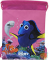 Drawstring Bag - Finding Dory Pink Cloth String Bag