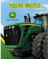 John Deere Pack of 8 Invitations  with Envelopes