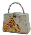 Princess Rapunzel Tangled Carry All Tin Clutch Purse with Beaded Handle