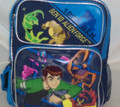 "Ben 10 Small Toddler 12"" Cloth Backpack Book Bag Pack - 100% Ben"