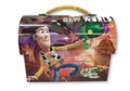 "Toy Story Woody Buzz Jessie Dome Carry-All Workmans Tin - ""New Adventure"""