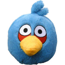 Angry Birds Medium 8 Inch Plush Toy With Sound - Blue Bird