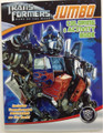 Transformers Jumbo Coloring and Activity Book - Optimus Prime Blue
