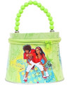 High School Musical Tin Box Carry All Tote Purse with Zipper
