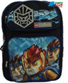 "LEGO Chima Large 16"" Cloth Backpack Book Bag Pack - Blue"