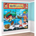 Jake and the Neverland Pirates Giant Scene Setter Wall Decorating Kit