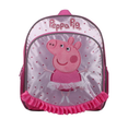 "Peppa Pig Large 14"" Cloth Backpack Book Bag Pack"