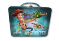 "Toy Story Buzz Woody Jessie Square Tin Stationery or Small Lunch Box - ""New Adventure"""