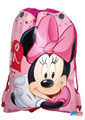 Drawstring Bag - Minnie Mouse Cloth  Sack Cinch Pack -