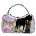 Disney Brave Merida Scoop Tin Purse - Angus and Merida