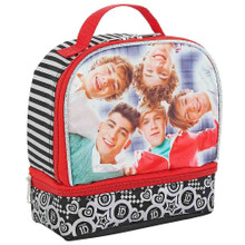 One Direction 1D Cloth Insulated Lunch Bag - Double Zipper