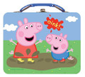 "Peppa Pig Square Tin Box - ""Oink"""
