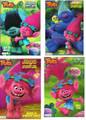 Trolls 4 Coloring and Activity Book Bundle