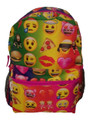 Emoji Faces 16 Inch Large Backpack