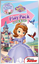 Sofia the First Grab and Go Play Pack Party Favors - Castle