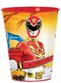 Power Rangers Megaforce Plastic 16 Ounce Reusable Keepsake Favor Cup (1 Cup)