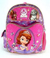 "Princess Sofia the First Large 16"" Cloth Backpack Book Bag - Heart"