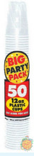 Big Party Pack 12 oz Plastic Cups - Clear