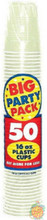 Big Party Pack 12 oz Plastic Cups - Leaf Green