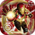Marvel Iron Man Large 9 Inch Square Lunch Dinner Plates