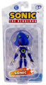 "Metal Sonic The Hedgehog 3.5"" Plastic Action Toy Figure"