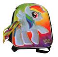"My Little Pony Large 16"" Cloth Backpack Book Bag Pack - ""MLP Rocks!"""