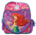 "Little Mermaid 12"" Inch Heart-Shaped Backpack"
