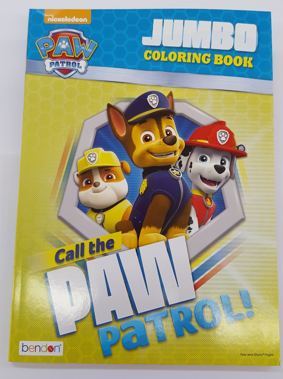 Coloring Book Paw Patrol C A 96p Call The Paw Patrol