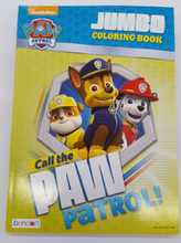 Elegant color Call the Paw Patrol 96pgs Coloring Book|Partytoyz