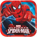 Ultimate Spider-Man Large 9 Inch Lunch Dinner Plates